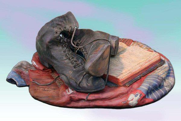 Footsteps of Faith Sculpture - 1