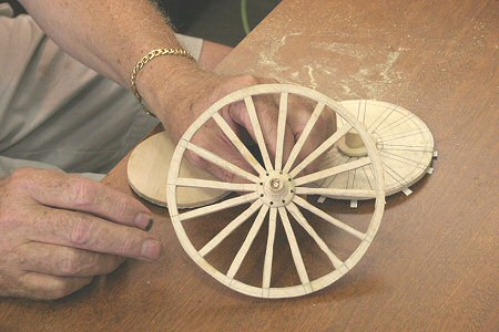 Darwin forms the Wheel for the Handcart