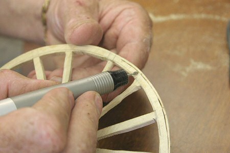Shaping with a High Speed Engraving Tool