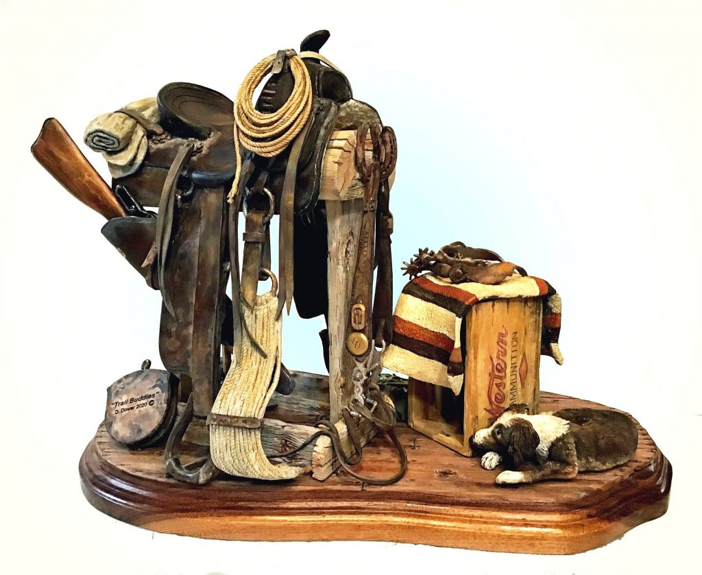 Saddle Carved in Wood